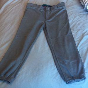 Rarely worn gray softball pants